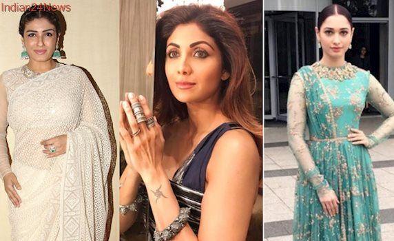 Shilpa Shetty, Tamannaah Bhatia, Raveena Tandon show us how to do summer ethnic looks in style