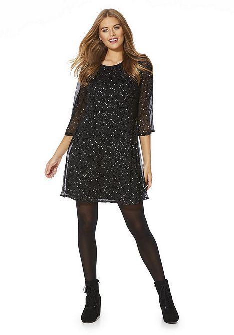 Tesco direct: Vero Moda Star Print A-Line Dress