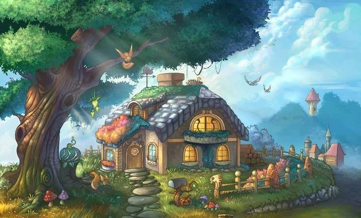 .fairy tell house