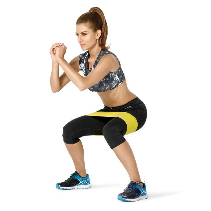Easy Home Exercise Equipment: Maria Menounos' Do-Anywhere Workout
