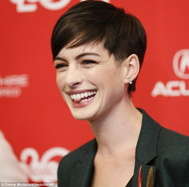 Anne Hathaway People: 72 Best Short Hair Styles Images On Pinterest