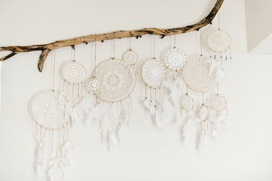 How To Make Doily Dreamcatchers — Apartment Therapy Tutorial