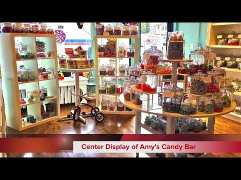 """Chicago Talks, Lincoln Square, """"Amy's Candy Bar"""" featuring French Pastry School graduate, Amy Hansen '06."""