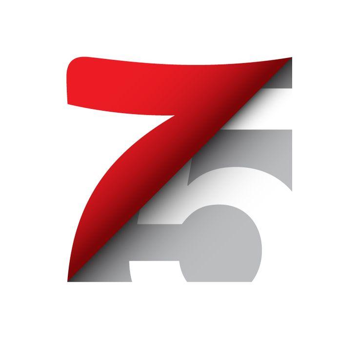Avery Dennison 75th Anniversary Logo