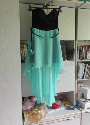 Kup mój przedmiot na #Vinted http://www.vinted.pl/kobiety/dlugie-sukienki/9576712-mietowo-czarna-sukienka