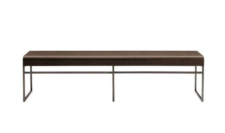 Benches: ELIOS – Collection: Maxalto – Design: Antonio Citterio