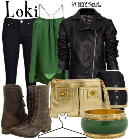 Another Loki outfit. I might be needing a leather jacket myself quite soon. For reasons...