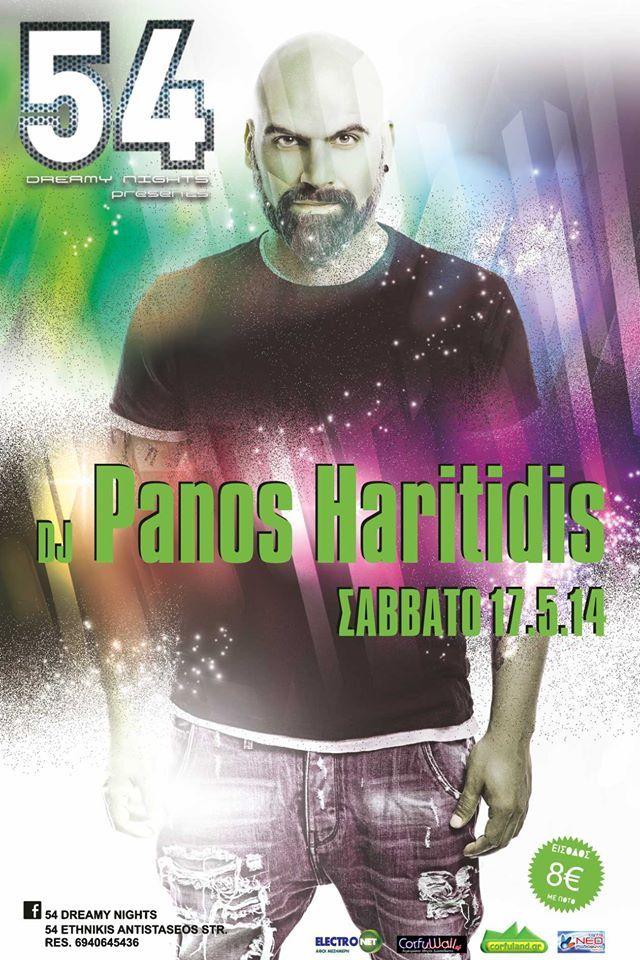 DJ PANOS HARITIDIS @ 54 DREAMY NIGHTS :: Corfu2day.com