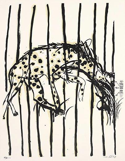 Hyena by Brett Whitely