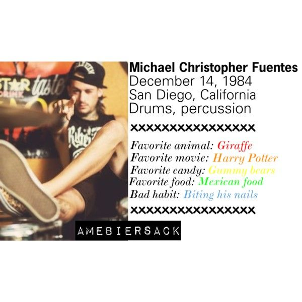 """416. Mike Fuentes Facts"" by amebiersack on Polyvore"
