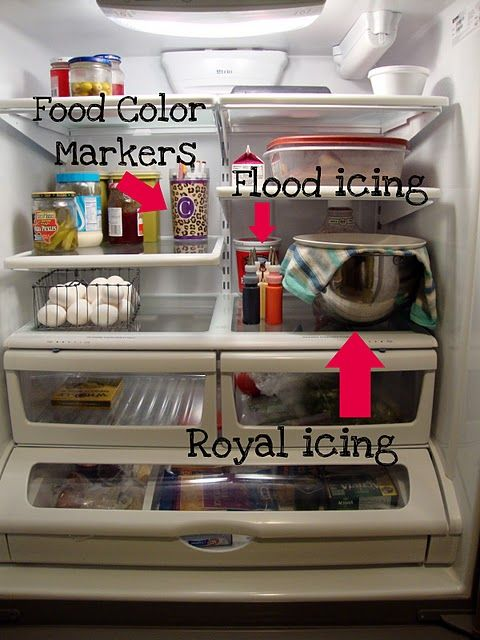 SugarBelle's tips on storing royal icing