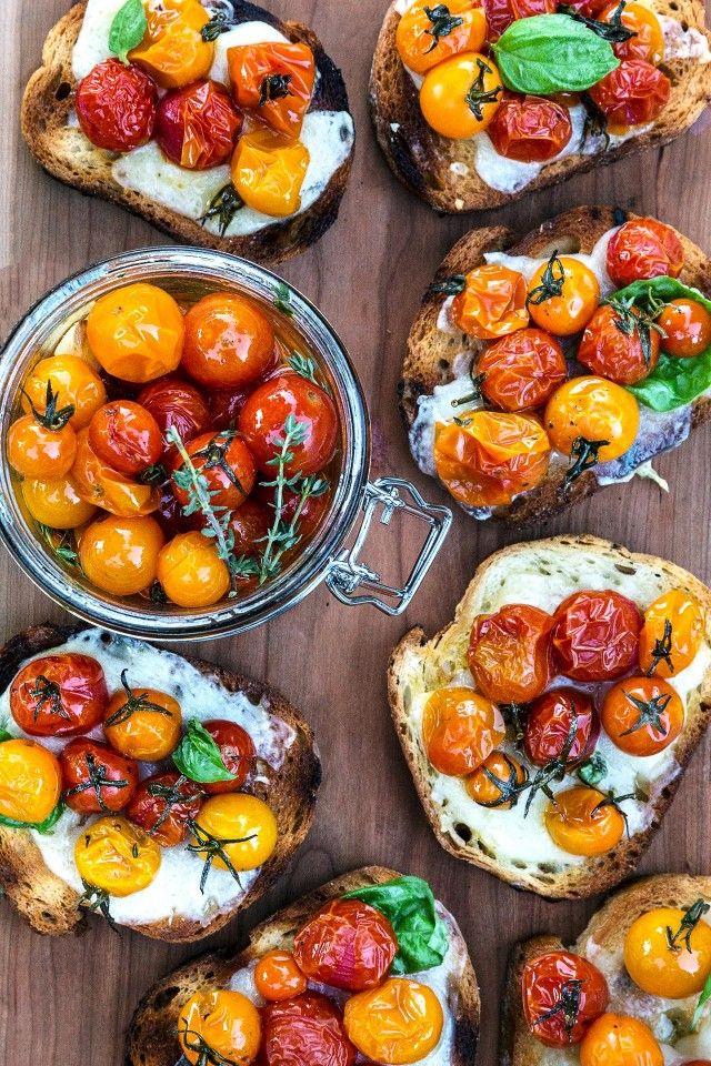 Tomato Confit Recipe   HonestlyYUM
