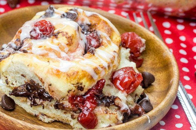 Black Forest Sweet Rolls Black Forest Sweet Rolls - A Fun Easy Breakfast, Brunch or Dessert Treat! #rhodesbread #rhodesfrozendough