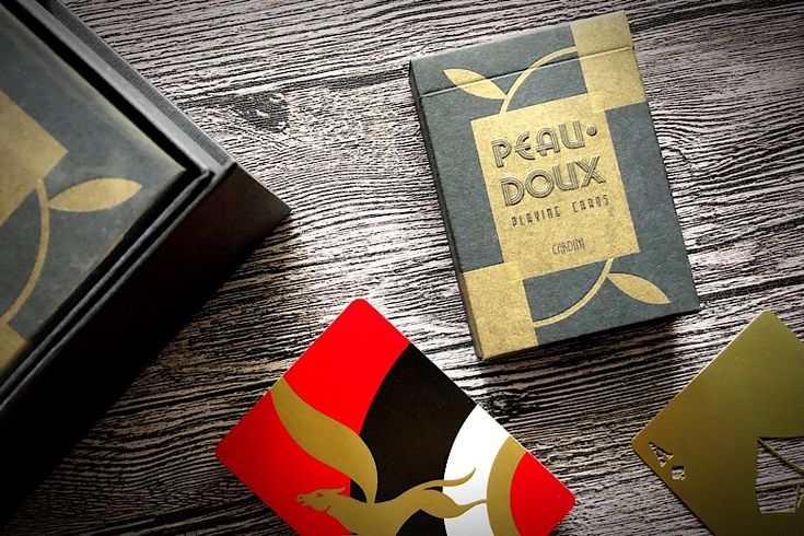 First Look: Art of Play's Peau Doux Playing Cards The Cards That Cardini Used!