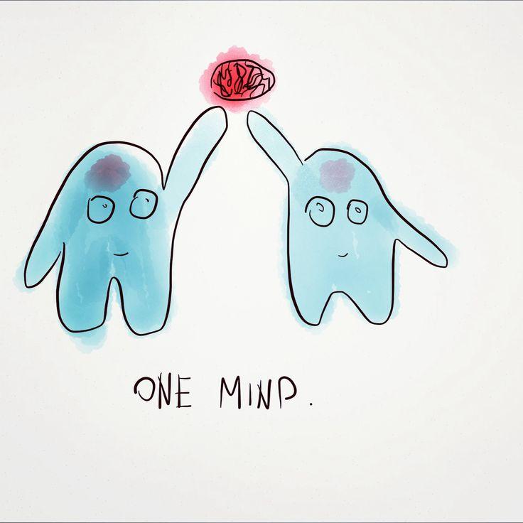 One Mind // by Whitney Davis