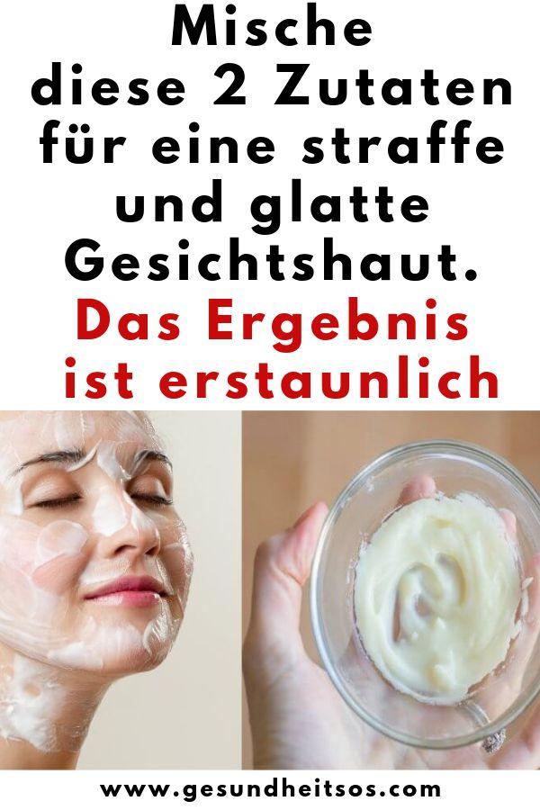 Feb 17, 2020 - Mische diese 2 Zutaten für eine straffe und glatte Gesichtshaut. Das Ergebnis ist erstaunlich gesundheit rezept 666603182329609656