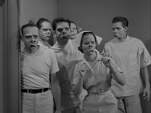 the twilight zone - eye of the beholder