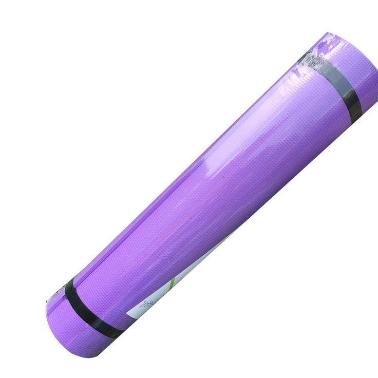 5 colori 4mm eva spessa durevole yoga mat antiscivolo esercizio fitness pad mat coperta dimagrante formazione impermeabile e antipolvere dec5