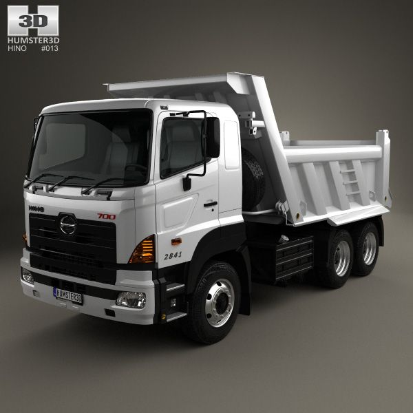 Hino 700 Series 2841 Tipper Lorry 3 Axle 2009