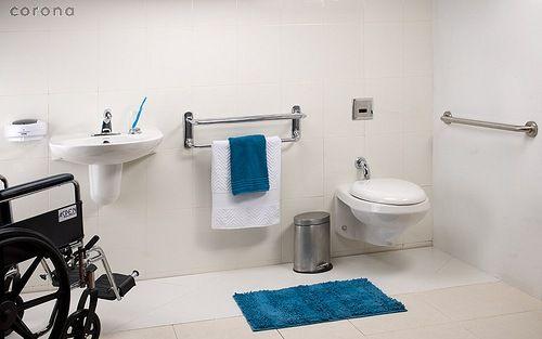 Baño Adaptado Minusvalidos Medidas:Más de 1000 ideas sobre Baño Para Discapacitados en Pinterest