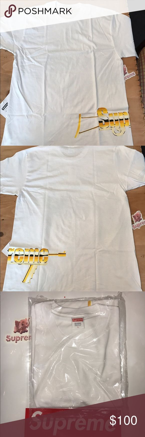 Supreme automatic tee From supreme s/s 17 brand new in plastic just took it out to show design. Hit me with an offer if interested Supreme Shirts Tees - Short Sleeve