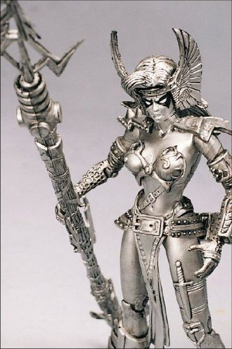 1997 Spawn Action Figure - Special Edition Pewter Angela - Collector's Club Exclusive