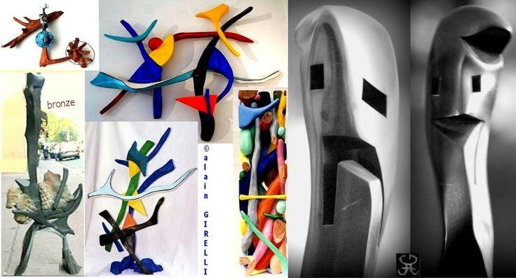 #Seillans #AlainGirelli   https://image-store.slidesharecdn.com/abe38e1b-49a8-4322-81a4-cf5ad85a9272-orig…   https://plus.google.com/u/0/100267728882063062646/posts/2znMYUnuEVB  Bronze sculptures, painted wood, Mixed Media, black patina wood. https://plus.google.com/s/%23AlainGIRELLI
