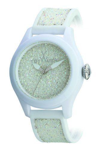 ToyWatch - Glitter - White
