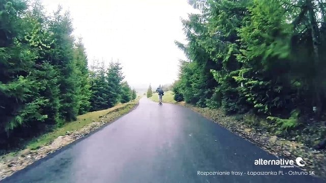 #wet #road #slovakia #poland #longboarding @Gordana White #SvrfshLngbrding #rawrun #spot #longboards #alternativelongboards