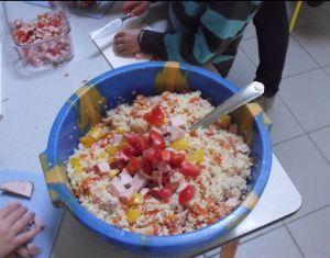 Couscous maken  www.jufkelly.me/thema/afrika