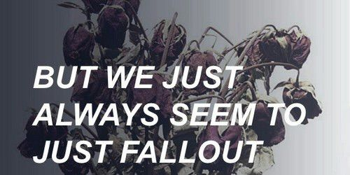 Fallout // Catfish and the Bottlemen