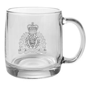 $14.99 RCMP Glass Mug