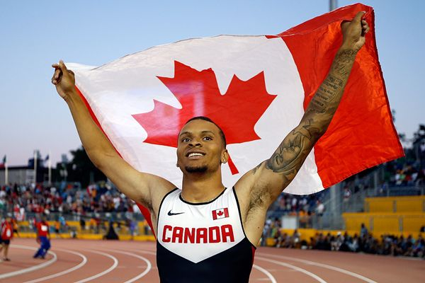Andre De Grasse relishing underdog role in Beijing