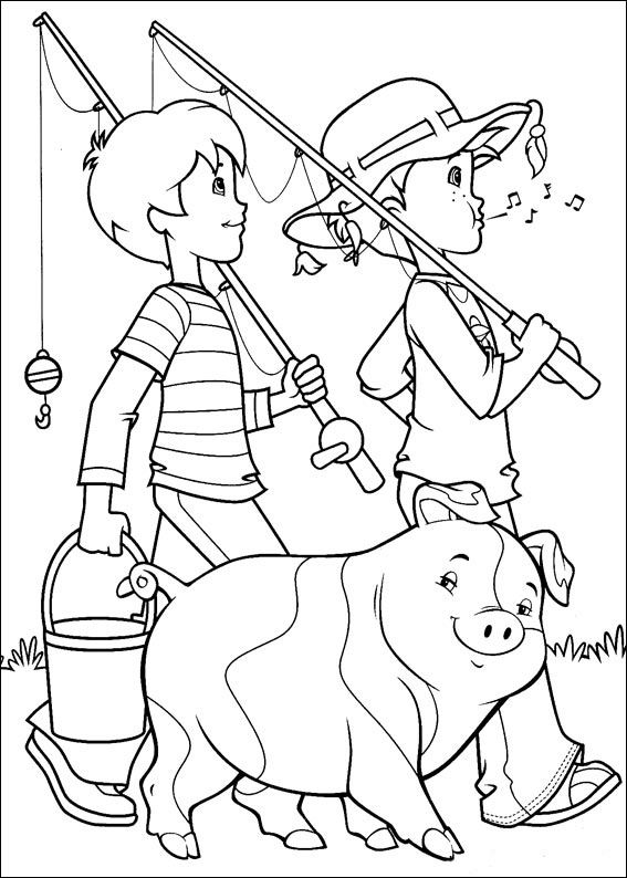 holly hobbie coloring pages - photo#12