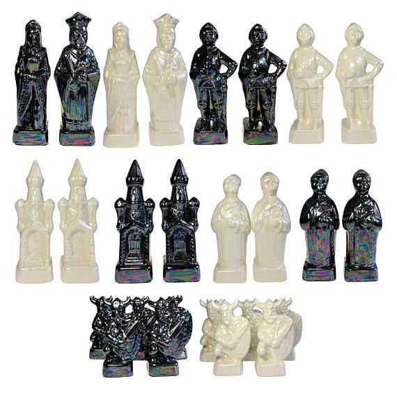 This Item Is Unavailable Glaze Ceramics Chess Set Nordic Vikings