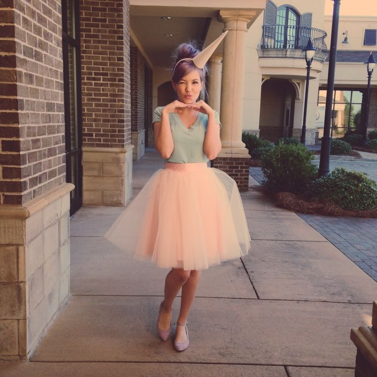Cotton Candy // Grown Up Halloween Costume Ideas.