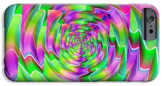 Purple green bent spiral #iphonecase #phonecase #technology #design #decor