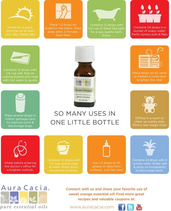 Sweet orange essential oil. How do you use it? a-few-of-my-favorite-aura-cacia-daily-items