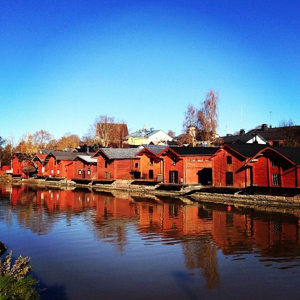 The second oldest town in Finland, Porvoo is located just 60 km from Helsinki, making for an easy day trip. This village is notable for its historic, wooden buildings and charming, cobblestone lanes.
