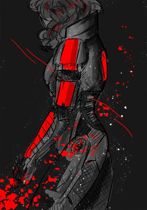 Commander Shepard: will you redeem my life again? #masseffect
