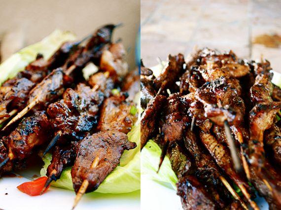 Filipino BBQ pork skewers | ethnic foods | Pinterest