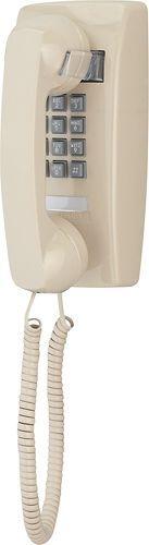 Cortelco - ITT-2554-V-AS Corded Mini Wall Phone - Ash (Grey)