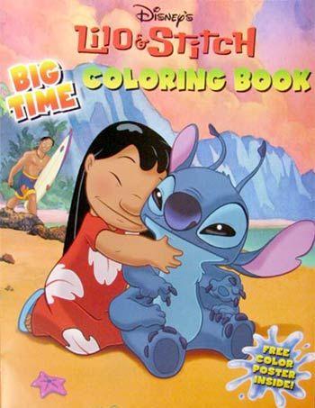 Lilo Stitch Coloring Book