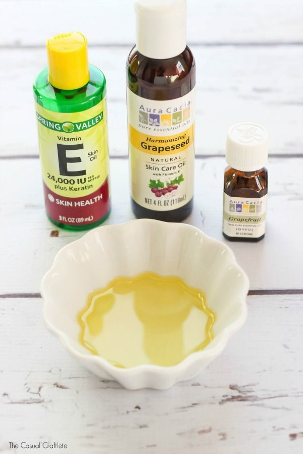 This DIY Cuticle Oil is made with just 3 all-natural ingredients and it repairs and nourishes the skin around your nails leaving it soft and moisturized.