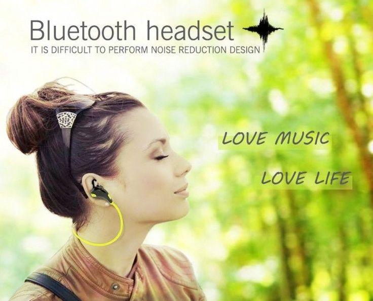 Wireless Bluetooth 4.0 Earphones Headphones Stereo Mini USB for iPhone Samsung #UnbrandedGeneric