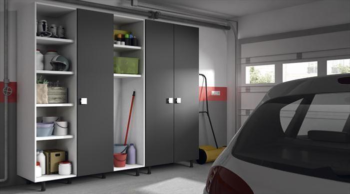 Armario box propuesta de soluci n a medida armario de seis m dulos para almacenar todo lo - Armarios para garaje ...