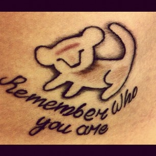 I wrote this for the month of june on my switchfoot for Remember who you are tattoo