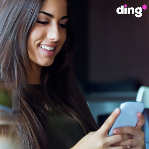 Have you sent a top-up with Ding?