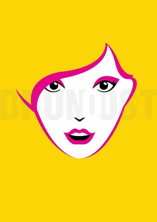 illustration   GIRLS   Blond by Bruno Ost #brunoost