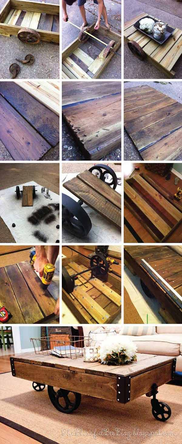Top 23 Extremely Awesome DIY Industrial Furniture Designs